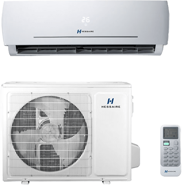 Hessaire 18,000 BTU 230V Mini Split w/ Heat Pump (H18HP2A) he6926k