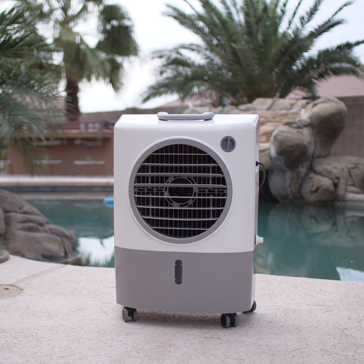 Hessaire MC18M 1,300 CFM Evaporative Air Cooler