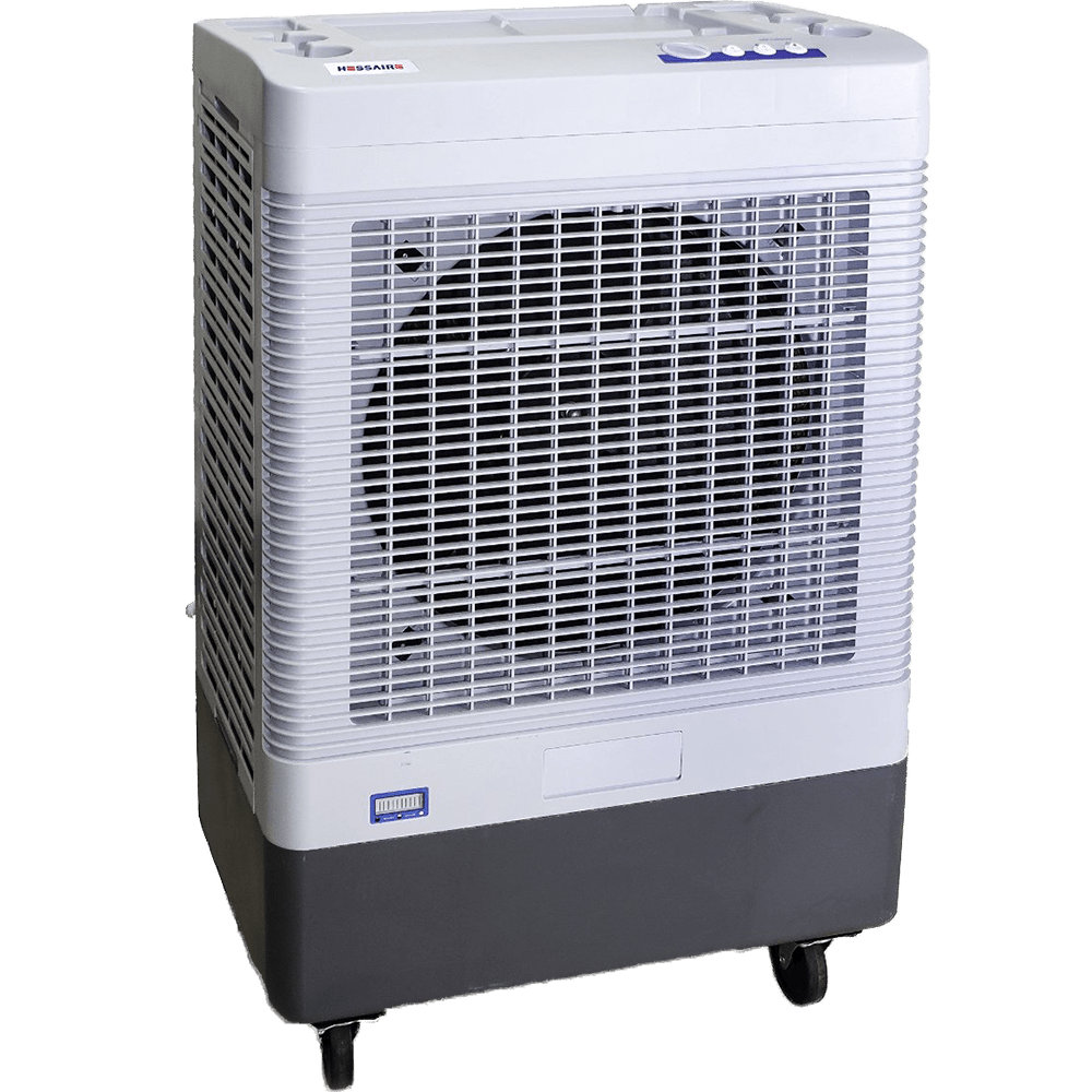 hessaire mc37a cfm 2speed portable evaporative cooler