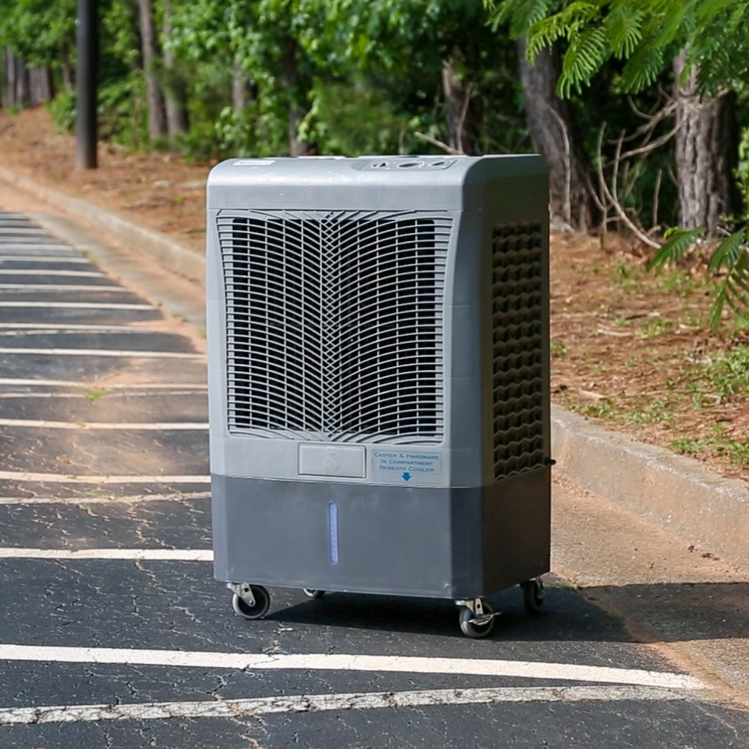 Hessaire MC37M 3,100 CFM 3-Speed Portable Evaporative Cooler