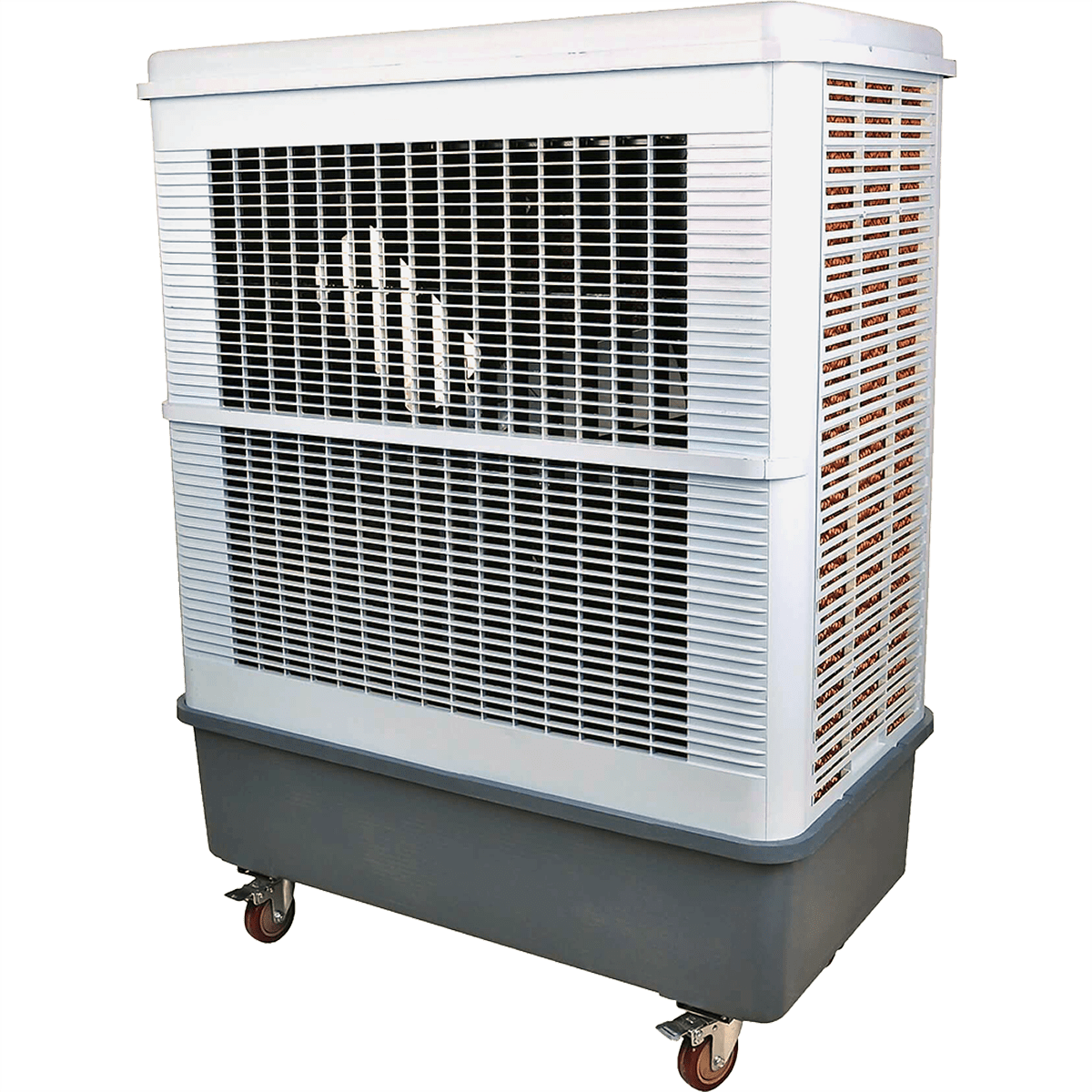 Hessaire MFC18000 8,500 CFM 2-Speed Portable Evaporative Cooler he5455