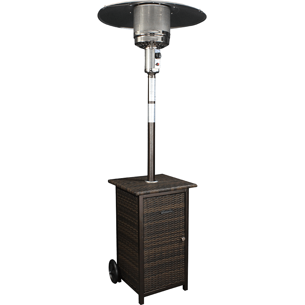 HomComfort Wicker Stand Patio Heater HCPHWKR