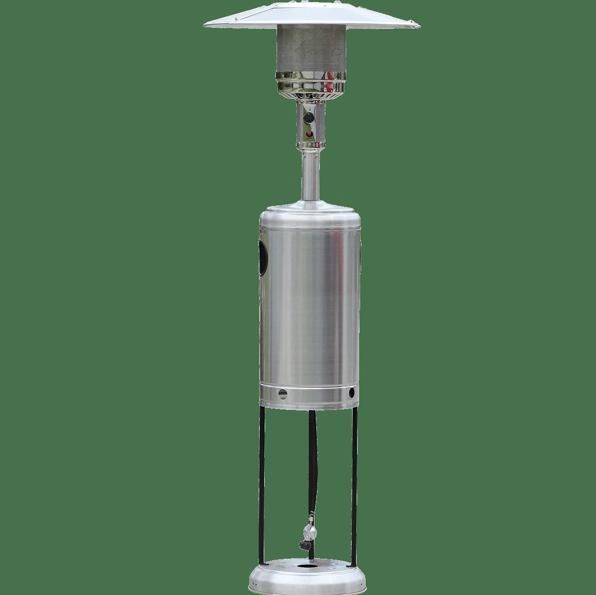 - HomComfort Stainless Steel Propane Gas Patio Heater Sylvane