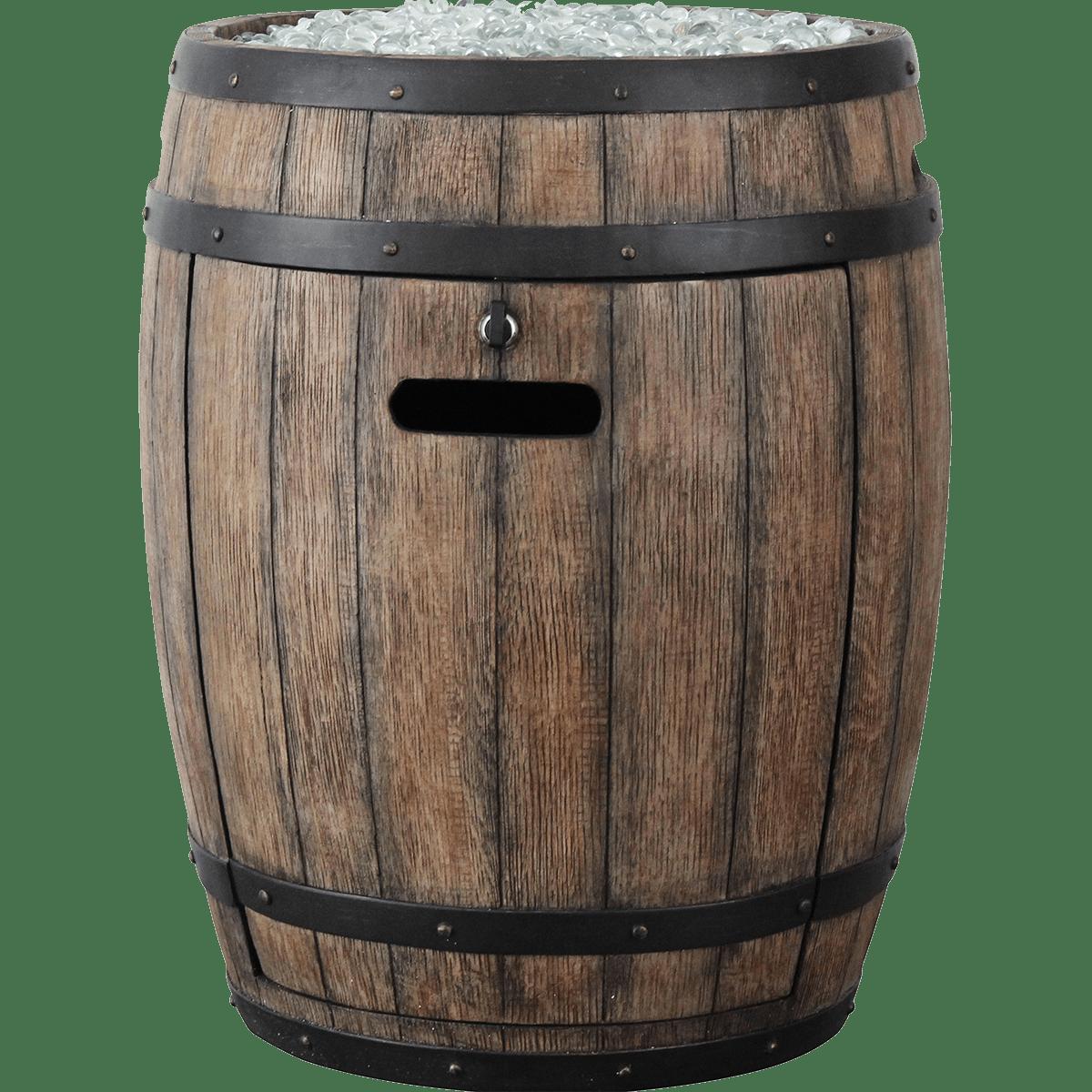 Homcomfort Whiskey Barrel Propane Gas Patio Heater Sylvane