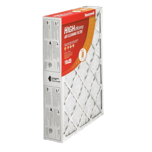 Honeywell High-Efficiency 4-Inch MERV-8 Furnace Filters ho4001