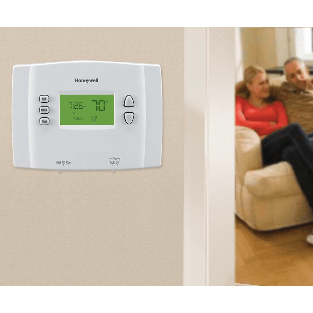 Honeywell Rth2300b 5 2 Day Programmable Thermostat Sylvane Have A Trane Xv90 Furnace With Ac Trying To Install