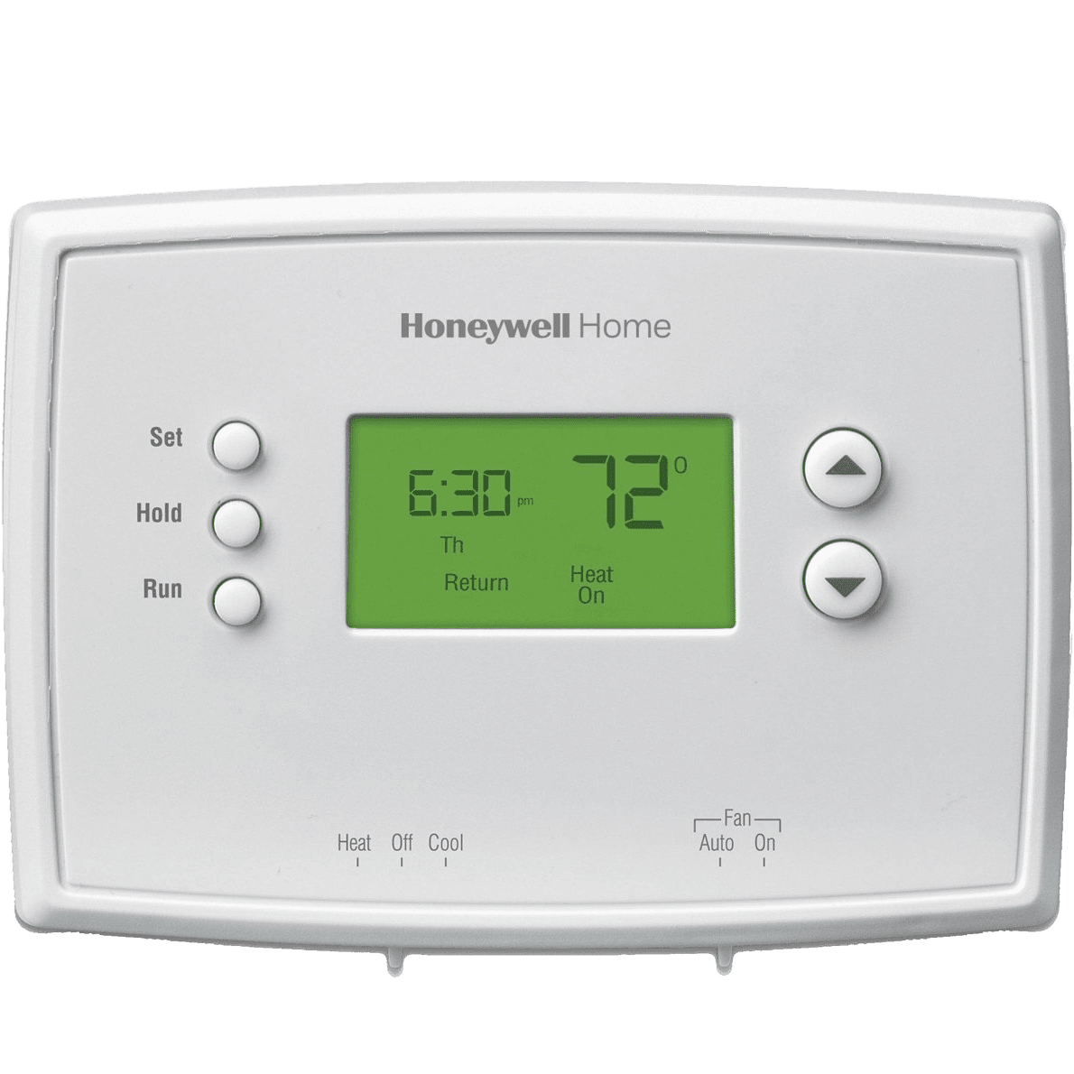 Wiring Diagram For Honeywell Thermostat Rth2300b : Honeywell rth b day programmable thermostat sylvane