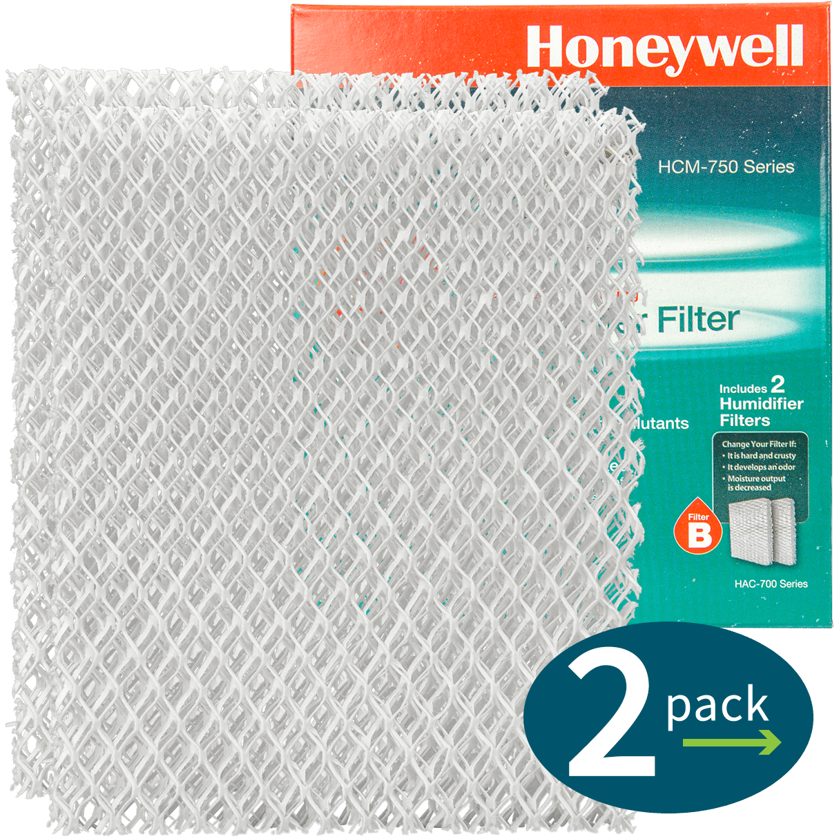 Honeywell Replacement Filter B (HAC-700) ho3161