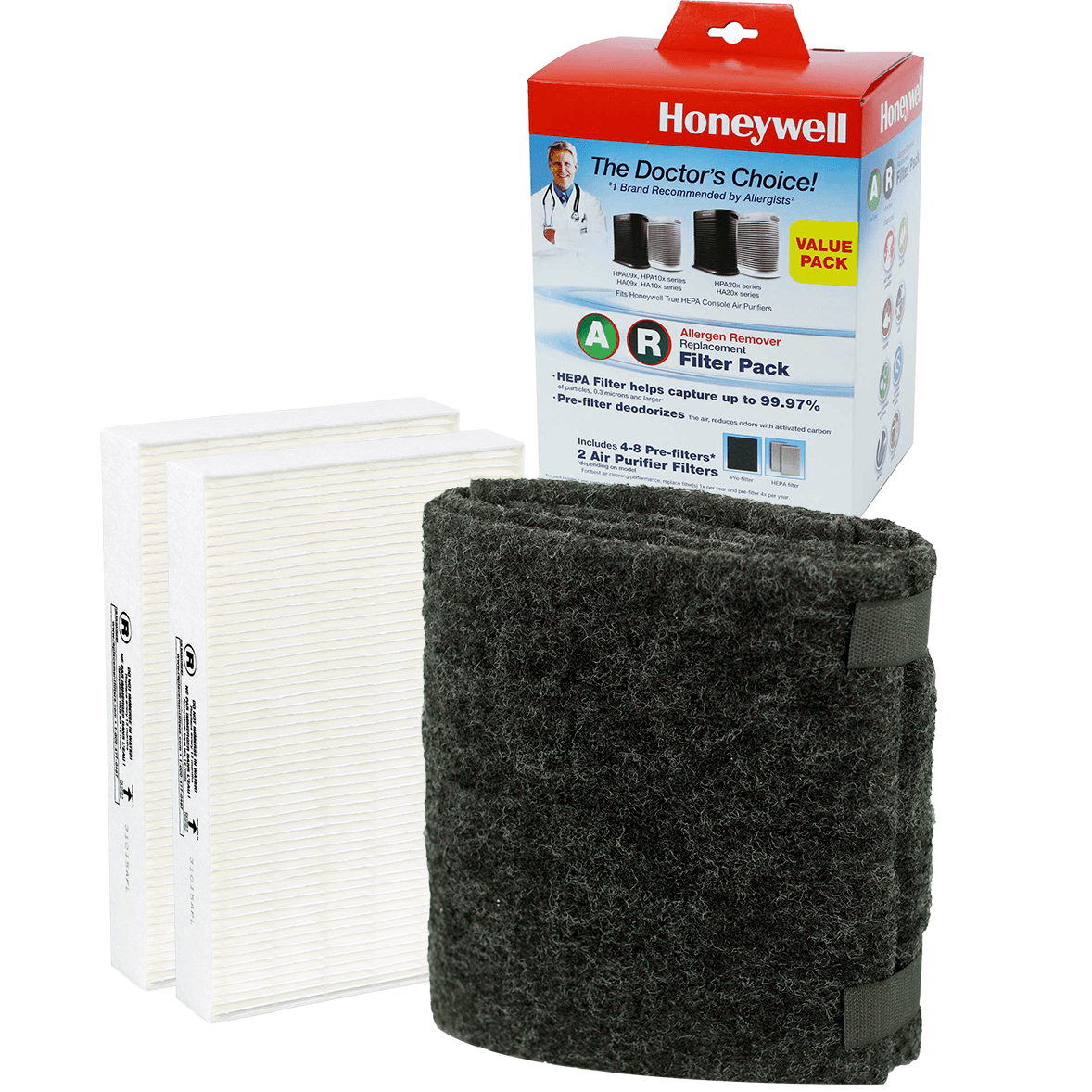 Honeywell True HEPA Filter Value Combo Pack (HRF-ARVP) ho4111
