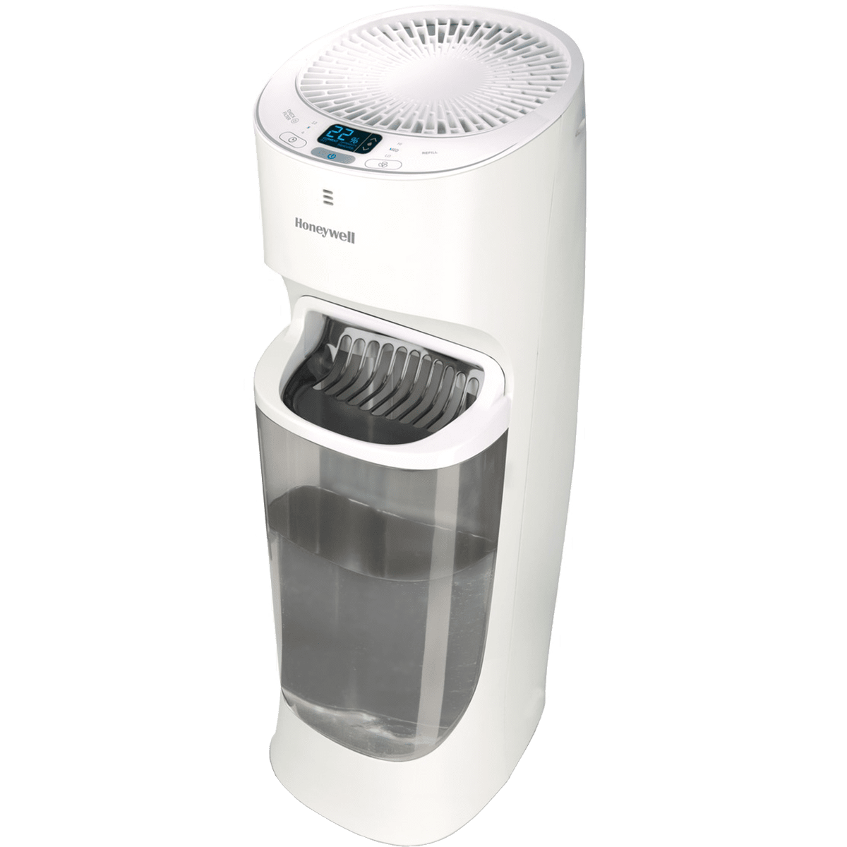 Honeywell humidifier top fill tower energy star humidifiers for Humidifier cleaning fish