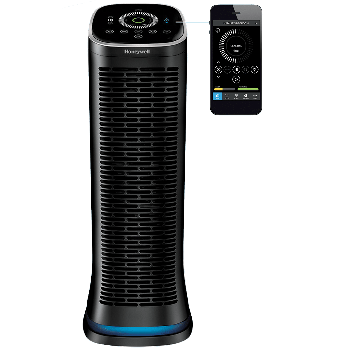 Honeywell HFD360B Bluetooth AirGenius 6 Air Cleaner/Air Purifier ho6895