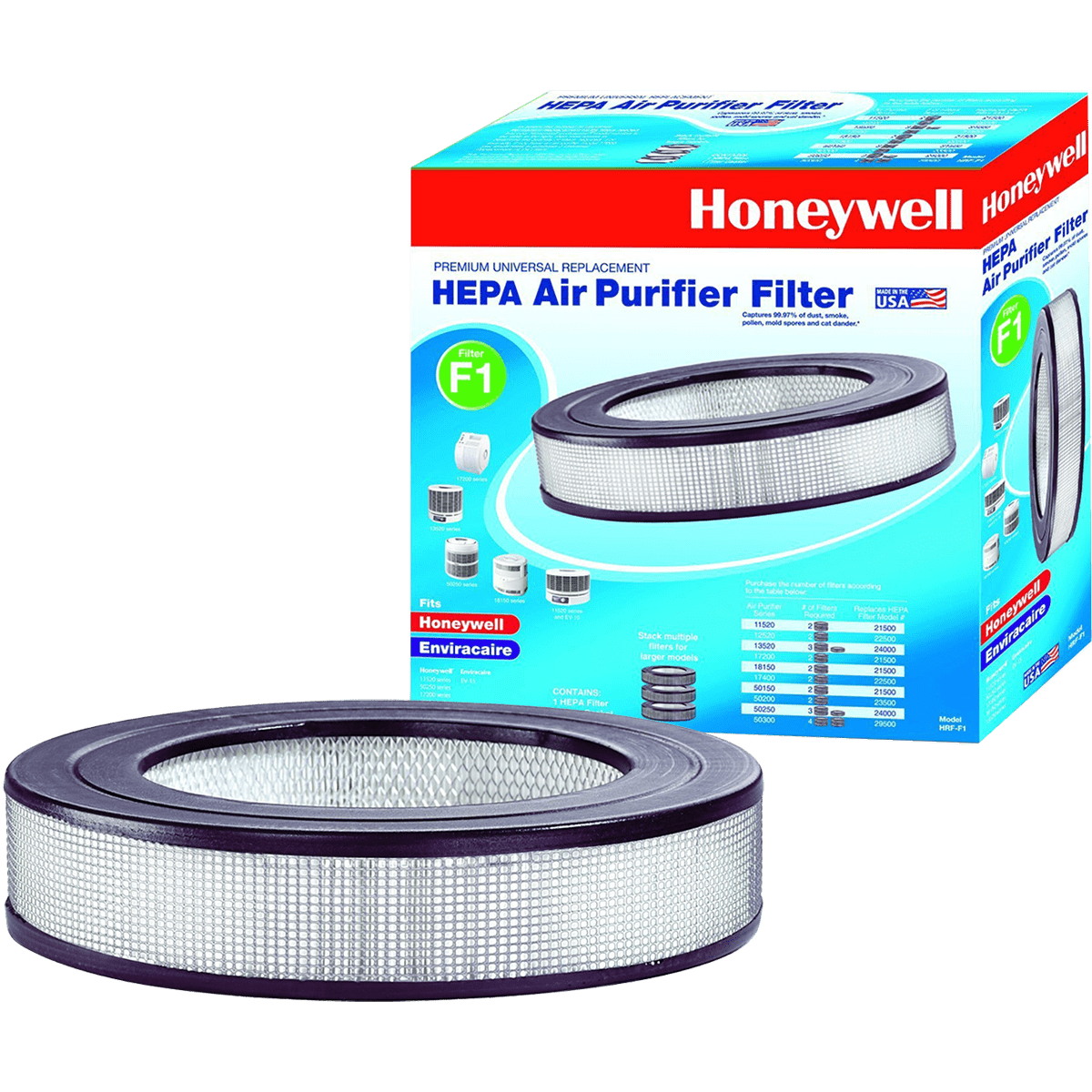 Honeywell HRF-F1 Universal HEPA Filter ho2467