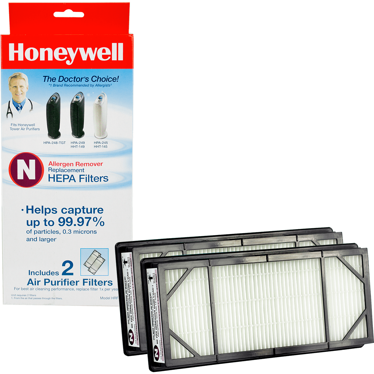 Honeywell True HEPA Replacement Filter N ho4072