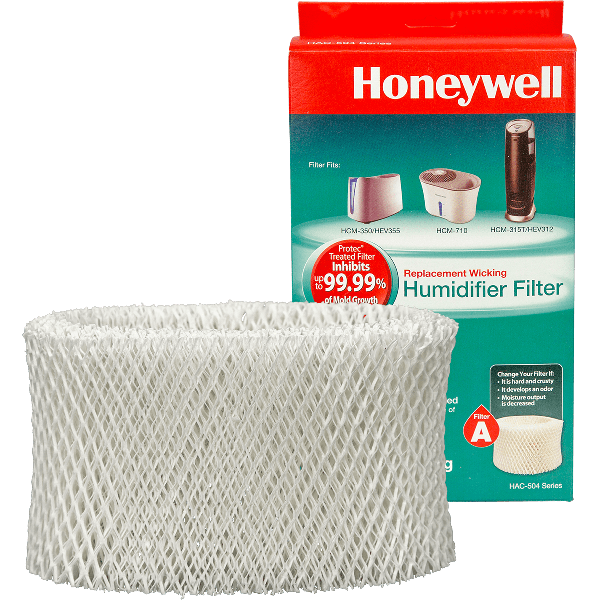 Honeywell Replacement Filter A (HAC-504V1) ho1273