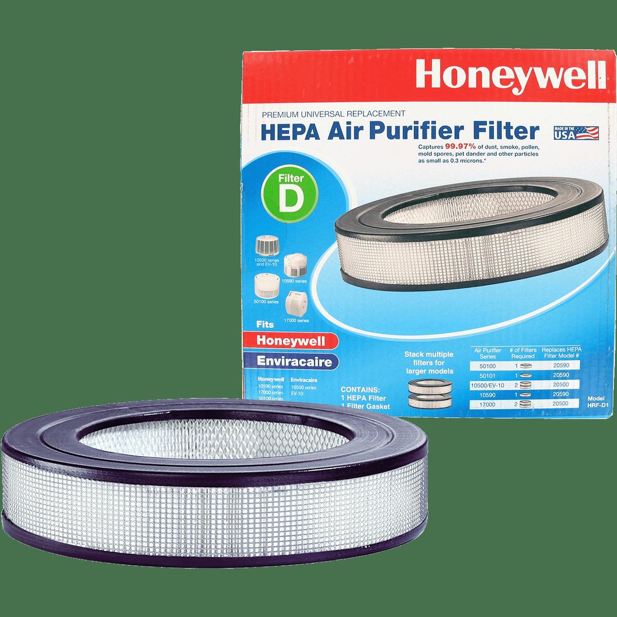 honeywell true hepa filter hrf d1 free shipping sylvane. Black Bedroom Furniture Sets. Home Design Ideas