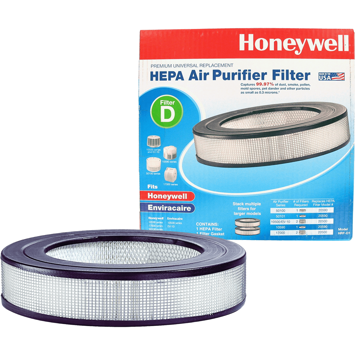 Honeywell True HEPA Filter (HRF-D1) ho2178
