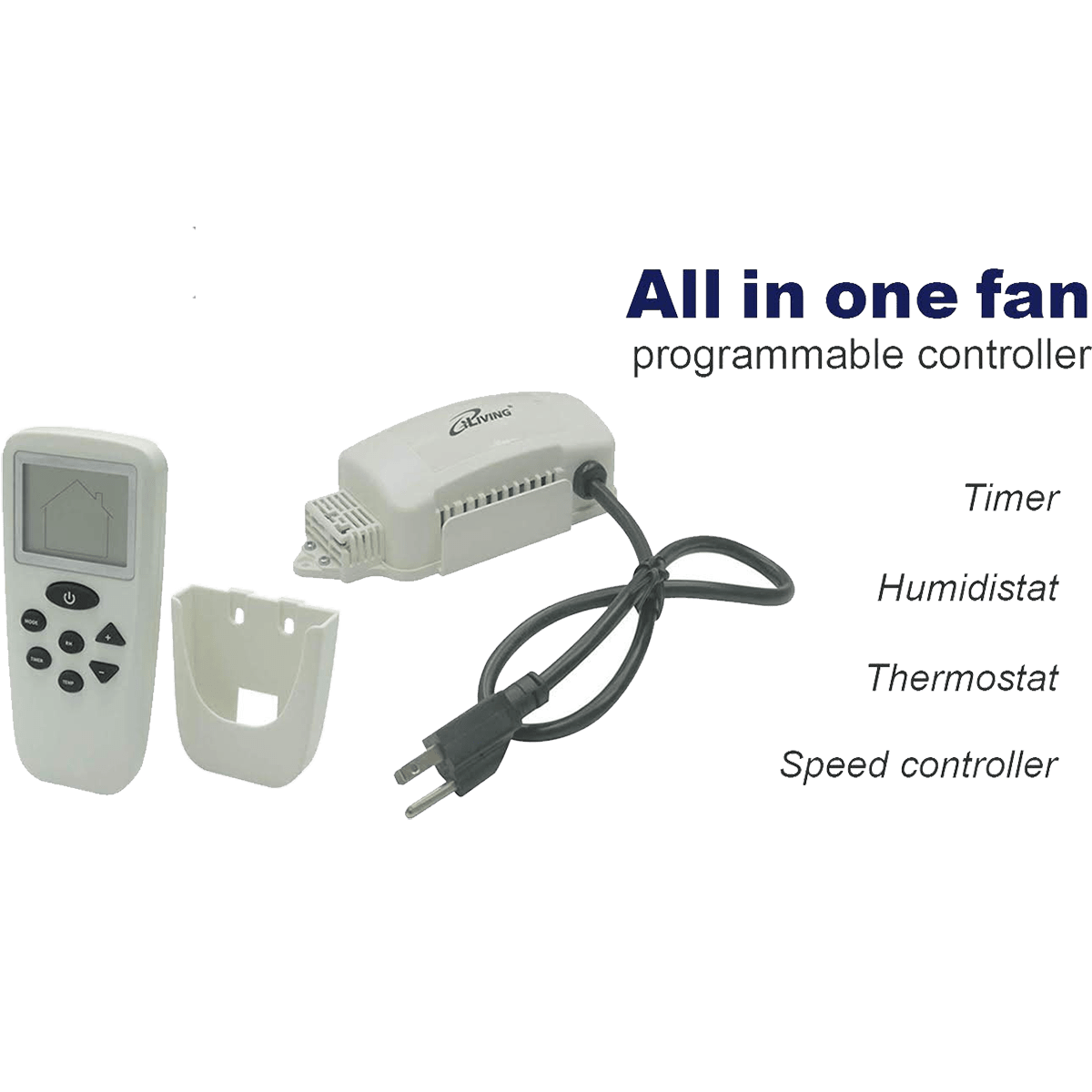 Iliving Exhaust Fan Smart Remote Control Kit Sylvane
