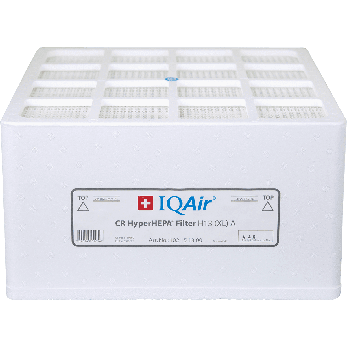 IQAir Cleanroom H13 HEPA Replacement Filter (102 16 13 00) iq151