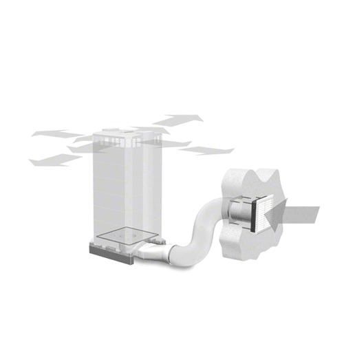 IQAir Inflow W125 Wall Ducting Kit (210 20 00 10) iq121