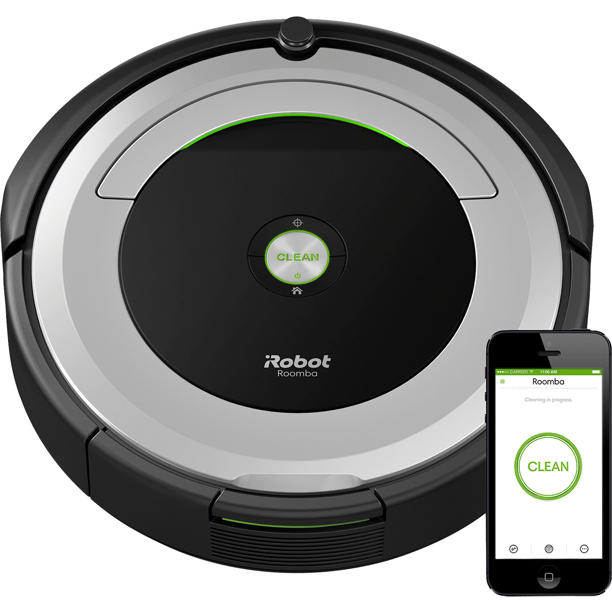 iRobot Roomba 690 Wifi Connected Robot Vacuum | Sylvane