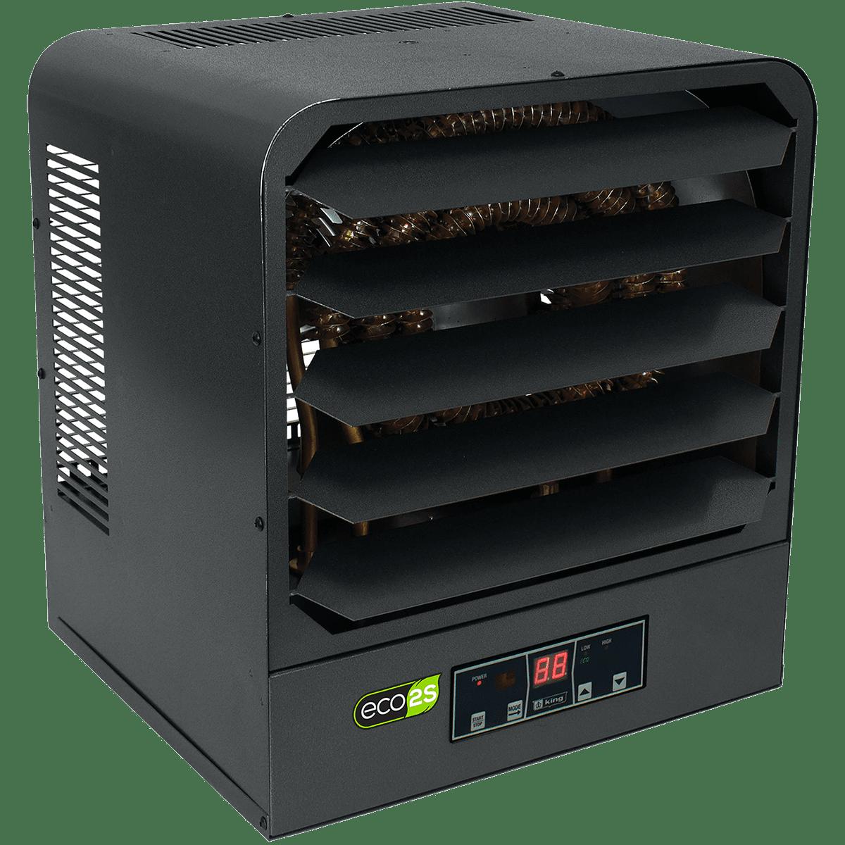 King Electric KB ECO2S Series 5000W Garage Heater Model: KB2405-1-B2-ECO