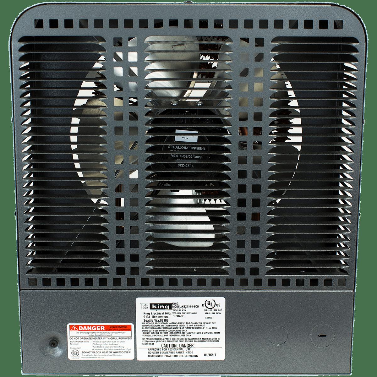 King Electric 240v Garage Heaters Kb Series Sylvane Heater Wiring Diagram Bathroom Electrical
