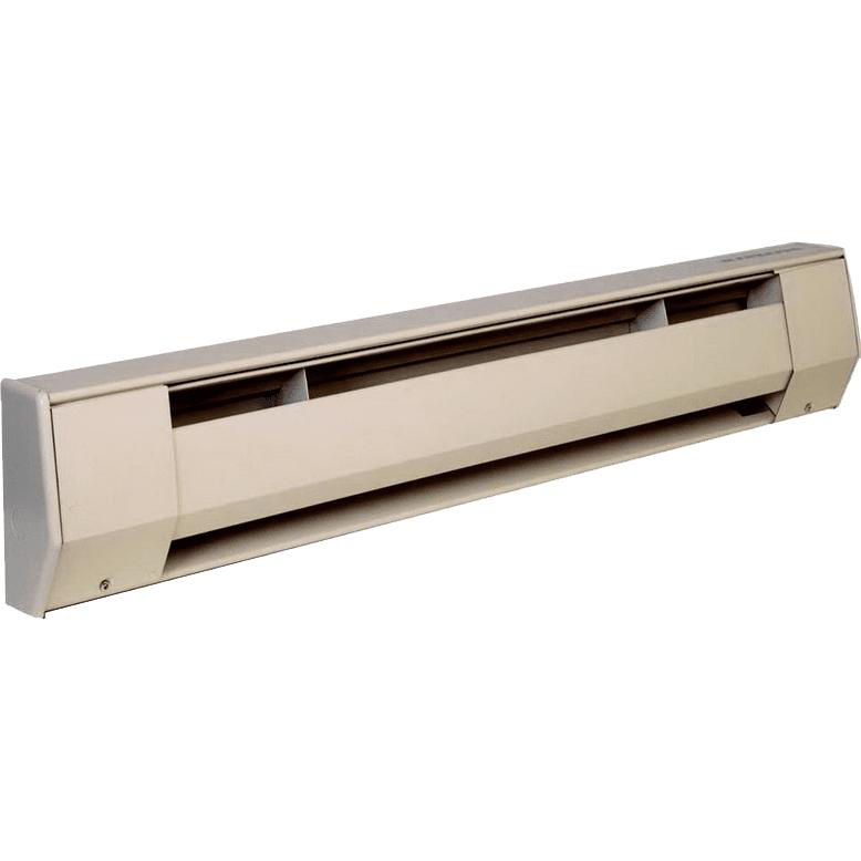 King Electric K Series 120 Volt Electric Baseboard Heater - 1200 Watt, Almond (5K1212A)