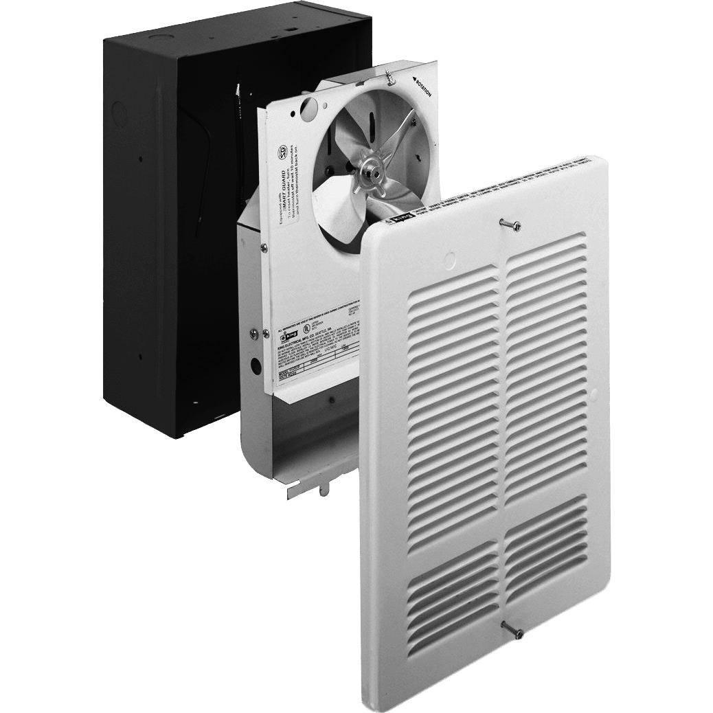 King Electric Lpw2445t 4500w 240v Large Wall Heater Sylvane Common Permanently Mounted Space