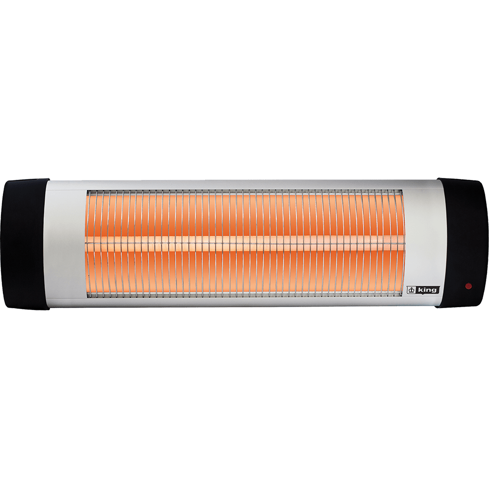 Buy king electric rsh1215 1500 watt radiant infrared for Electric radiant heat efficiency