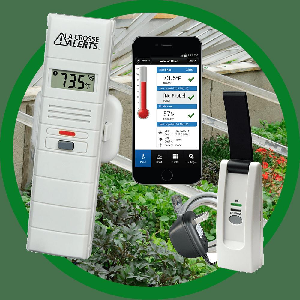 La Crosse Wireless Temperature Amp Humidity Monitor For