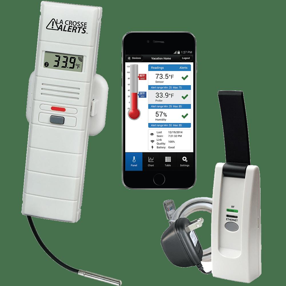 LaCrosse Remote Temperature & Humidity Monitors