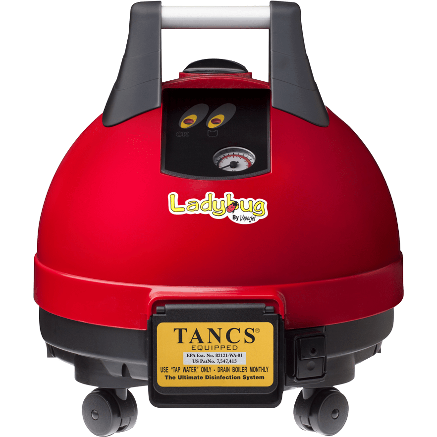 Ladybug 2200S TANCS Vapor Steam Cleaner Model: 2200T