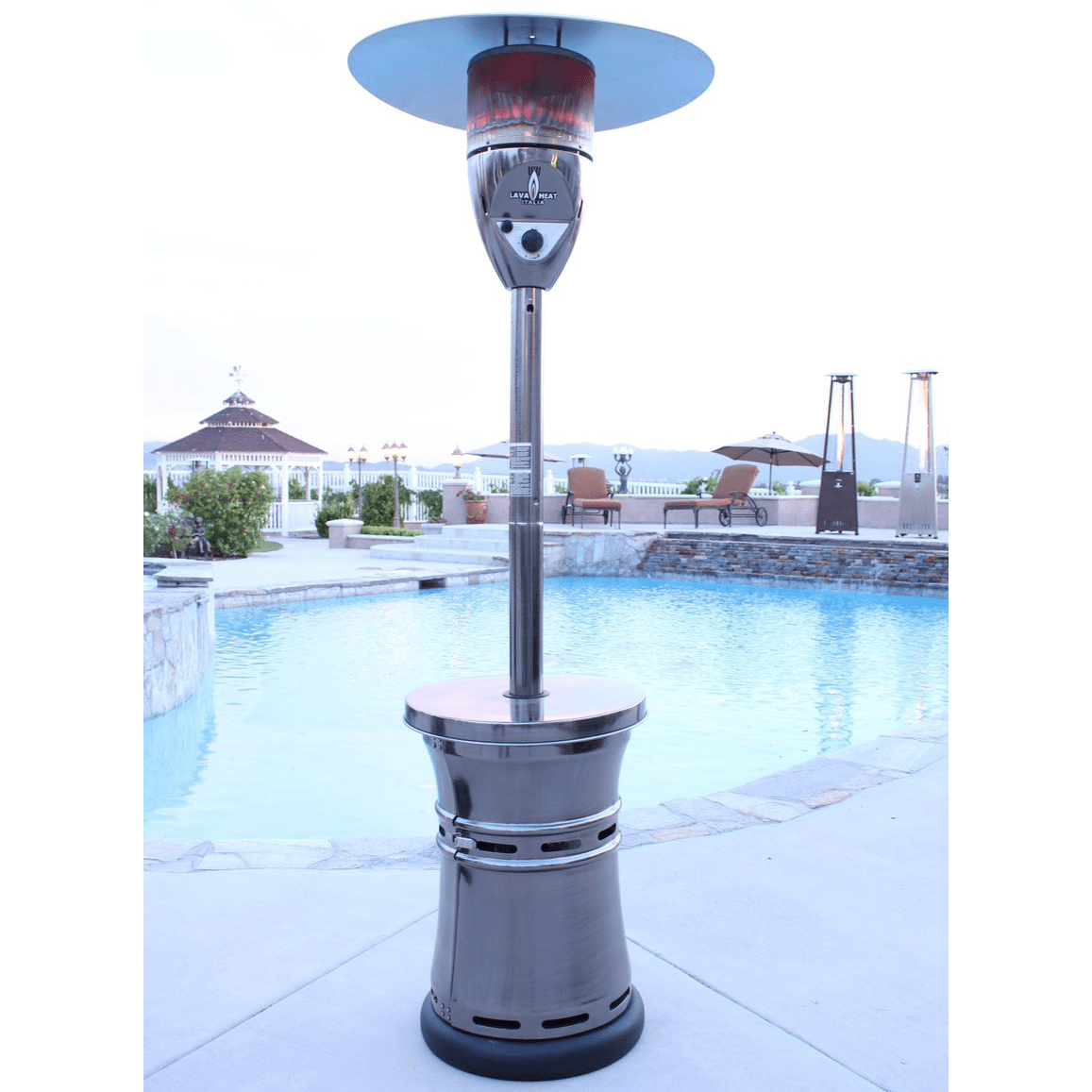 outdoor heater for a pool deck - Outdoor Propane Heaters
