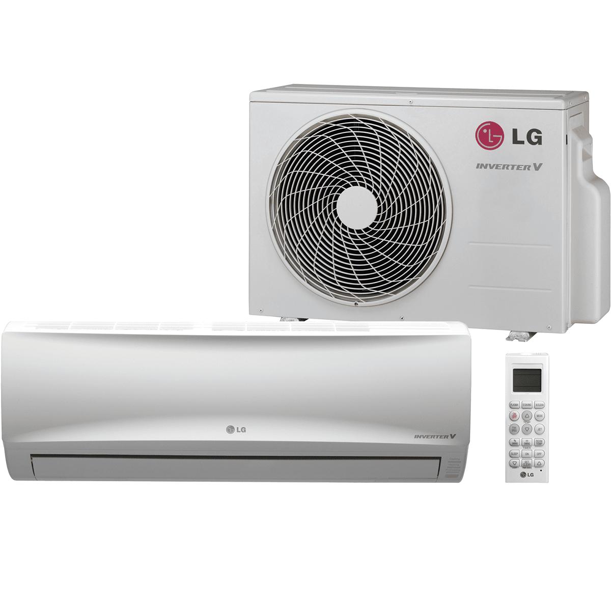 LG 9,000 BTU Single Zone Mega Mini Split Heat Pump