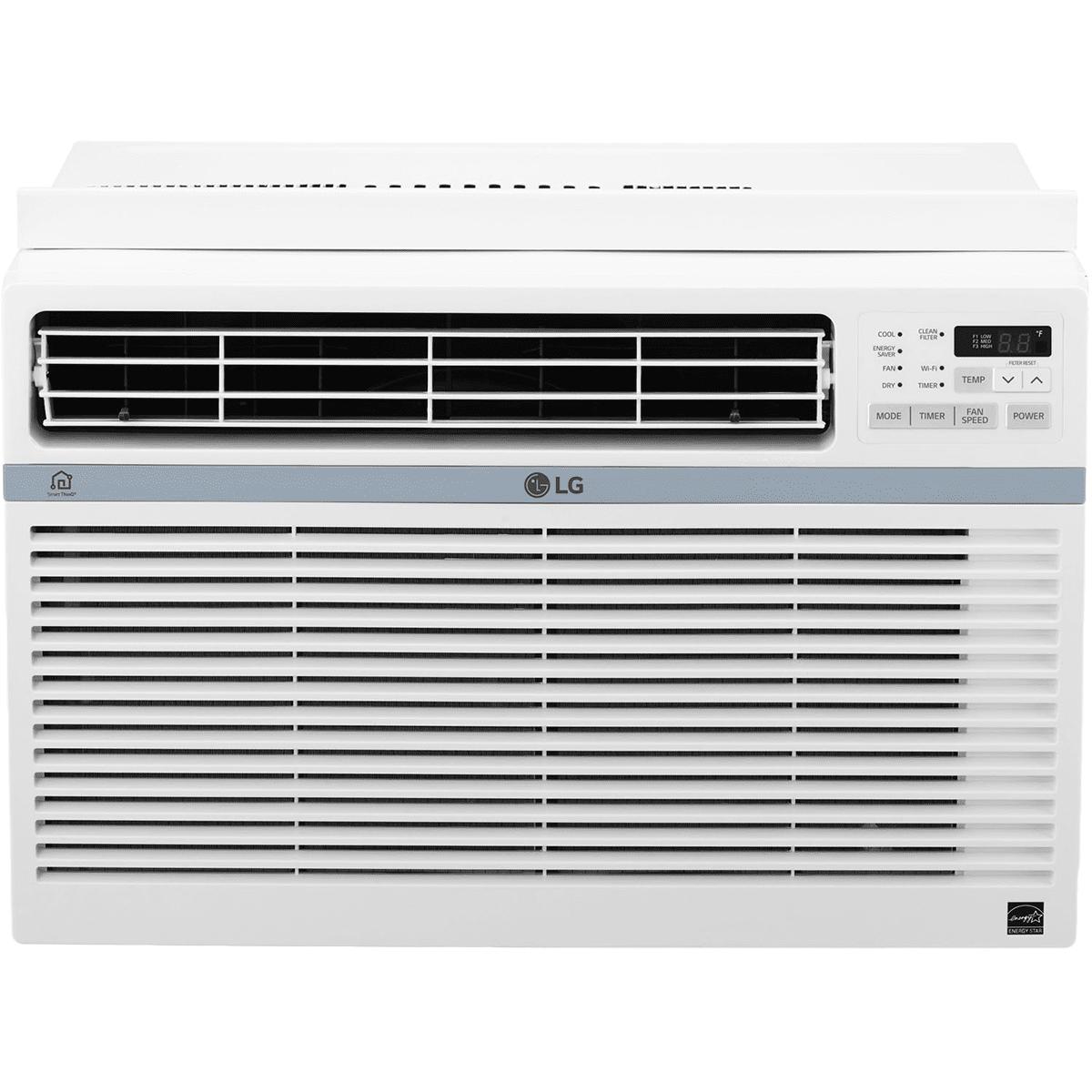 LG 10,000 BTU Window AC Wi-Fi Controls – LW1017ERSM