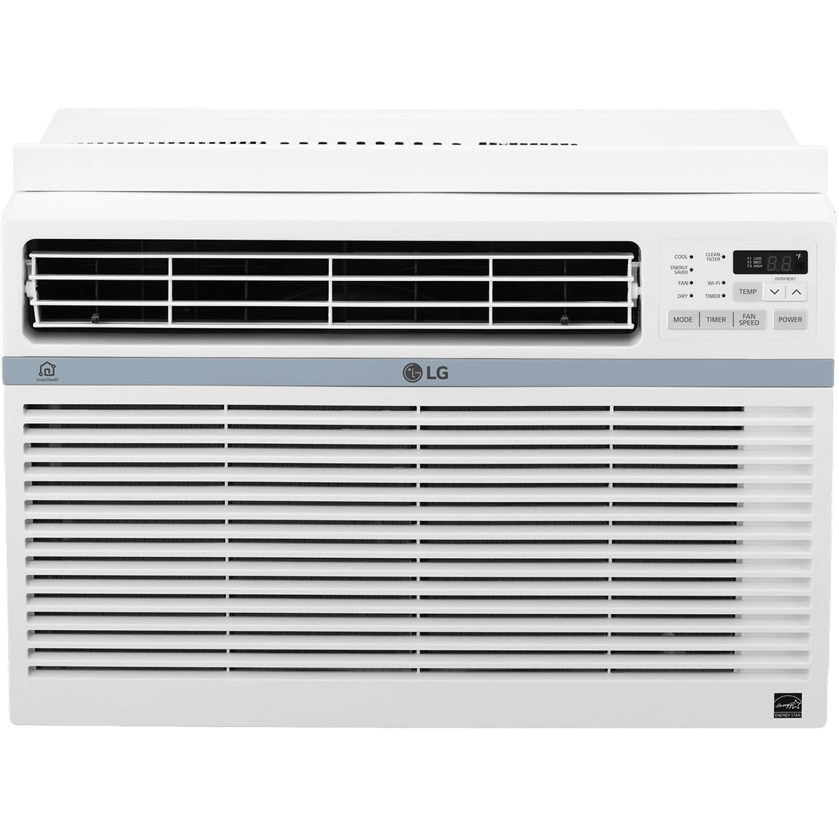 LG LW1217ERSM 12,000 BTU Window AC w| Wi-Fi Controls