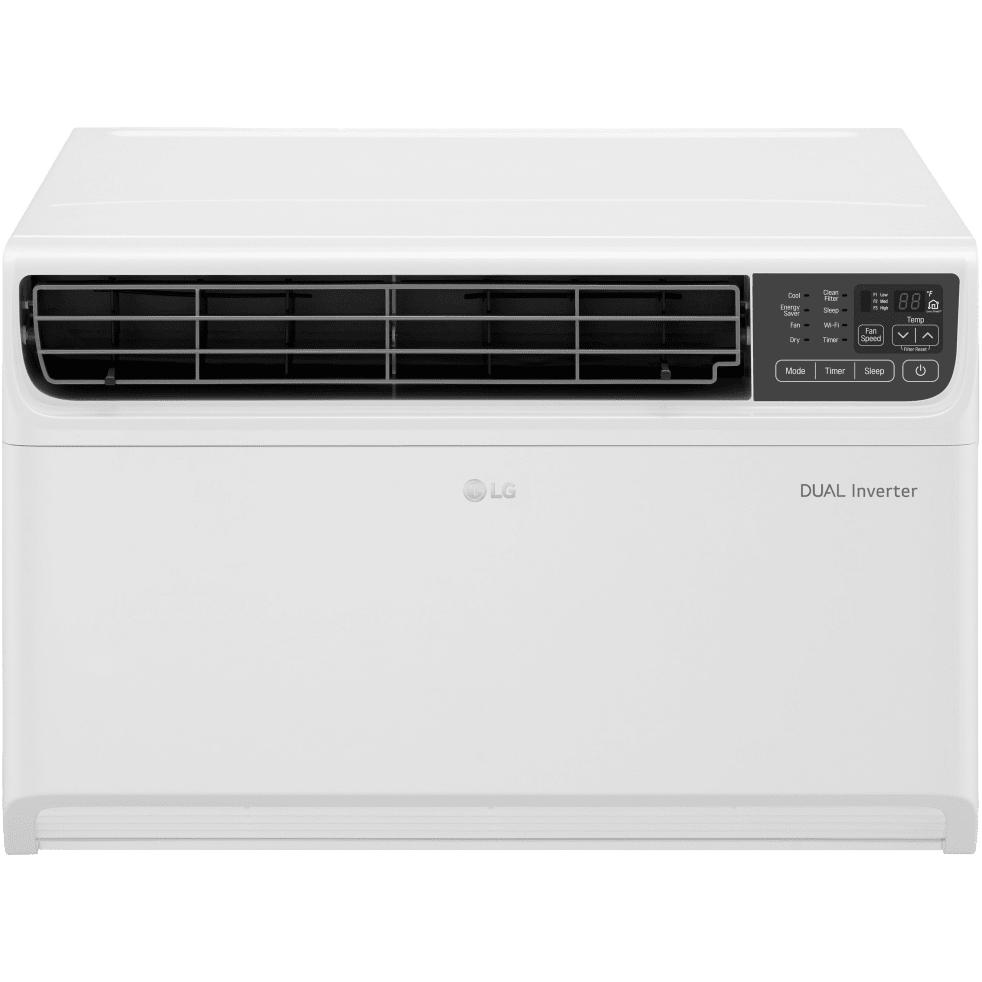 lg 14 000 btu dual inverter smart window air conditioner sylvane. Black Bedroom Furniture Sets. Home Design Ideas