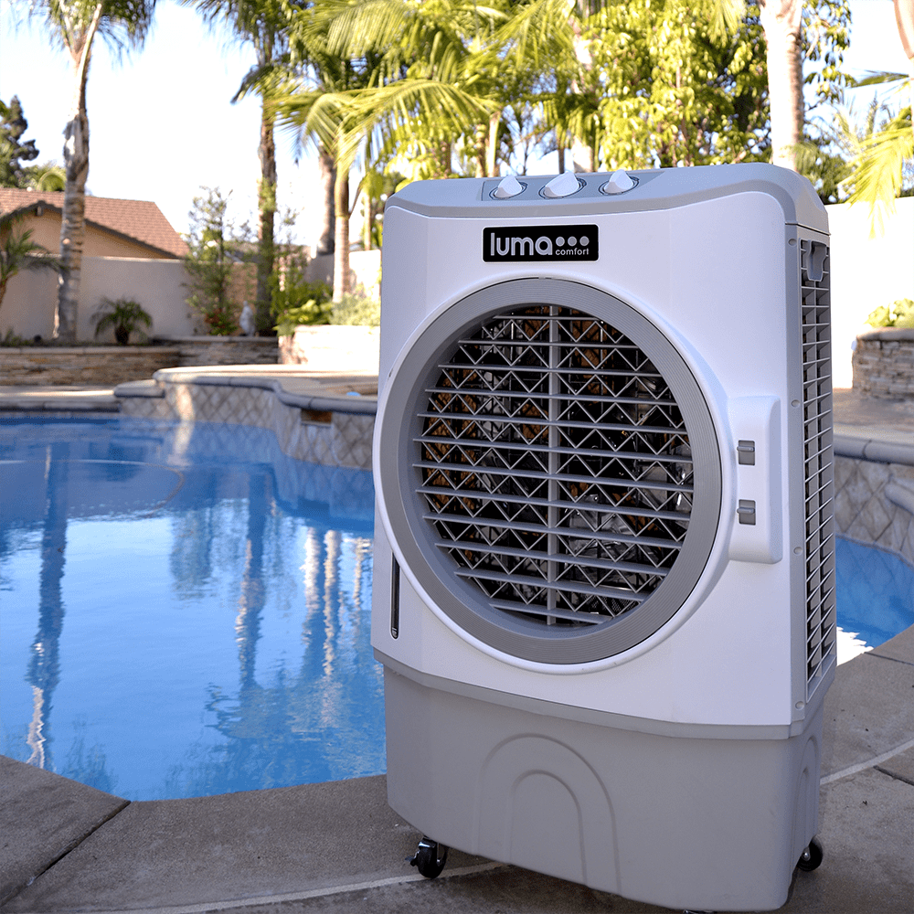 Evaporative Cooler For Pool : Evaporative coolers keep your patios cool for summer