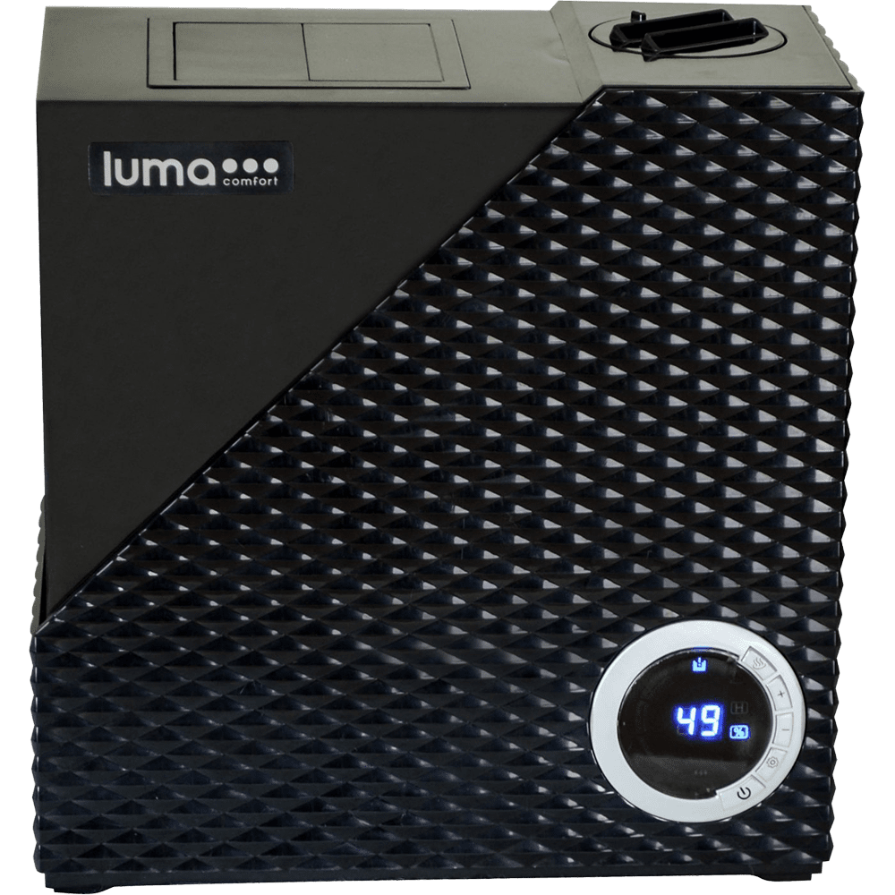 Luma Comfort HCW10B Cool and Warm Mist Humidifier lu3008