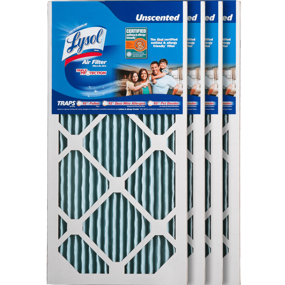 Lysol Triple Protection Furnace Air Filters ly4779