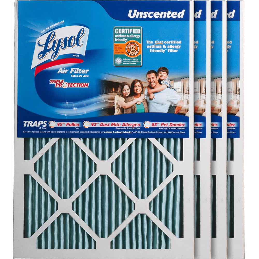 Lysol Triple Protection Furnace Air Filters ly4782