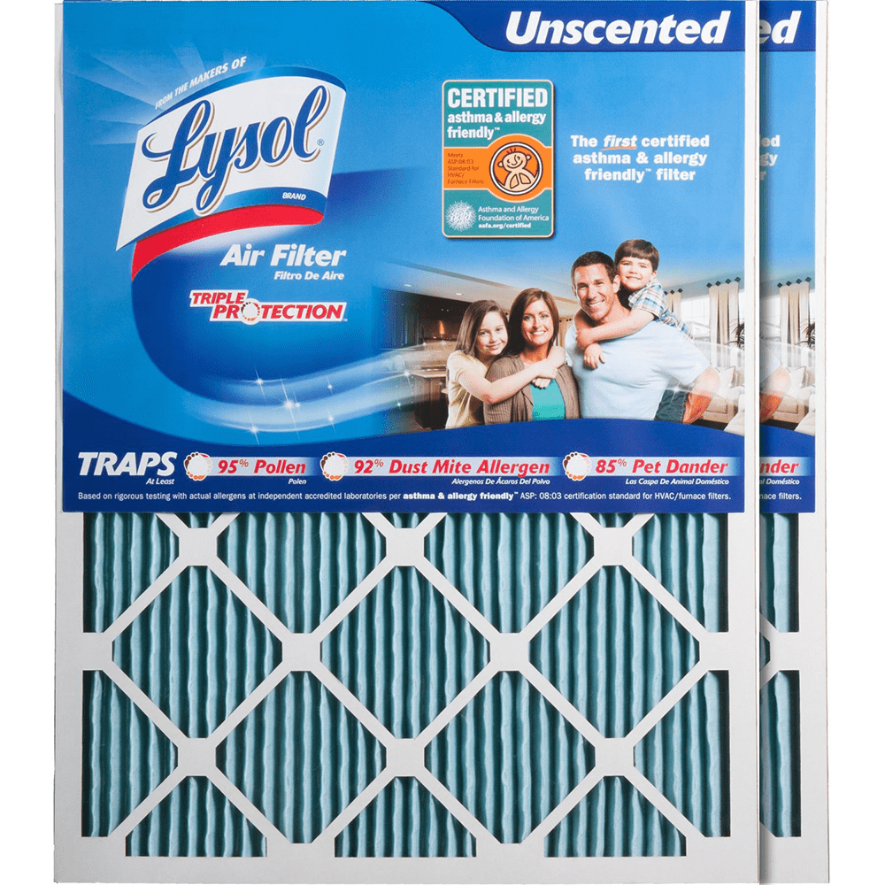 Lysol Triple Protection Furnace Air Filters ly4778