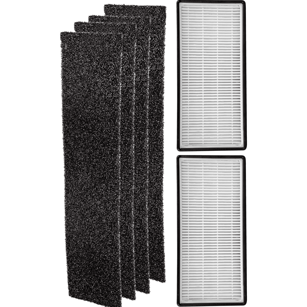 Filter-Monster Replacement Filter Kit for Whirlpool Tower Air Purifiers wh6376k