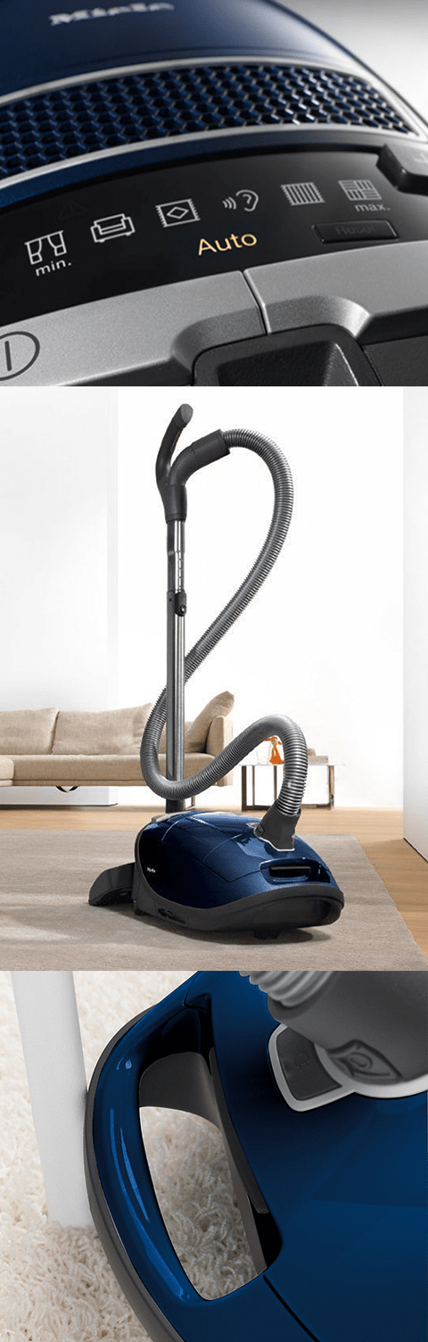 Miele C3 Marin Canister Vacuum Features
