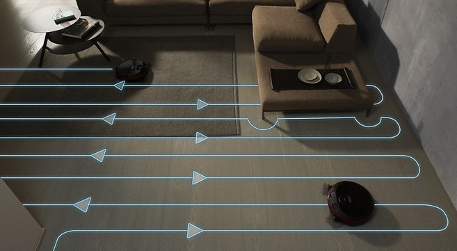 Miele Scout RX2 Robot Vacuum Systematic Mapping