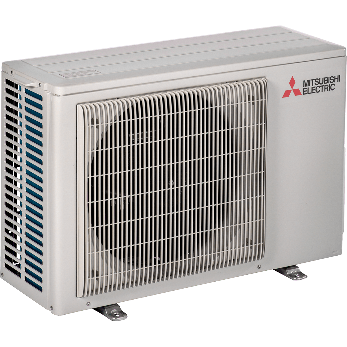 Mitsubishi 12,000 BTU Mini Split Air Conditioner with Heat - outdoor