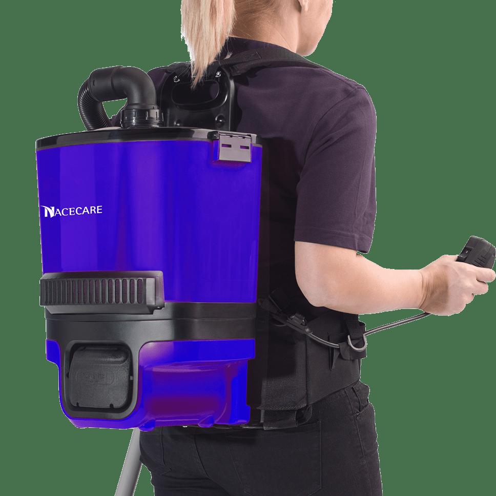 Nacecare Latitude Battery Backpack Vacuum Sylvane