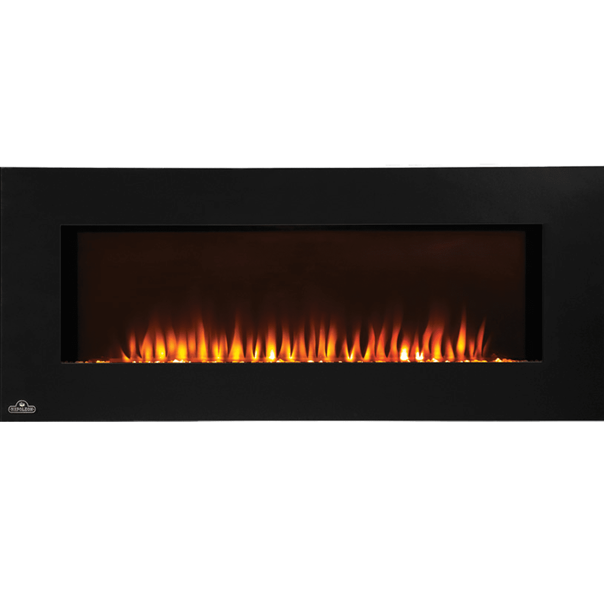 transcendence electric by wall classic fireplace mounted hanging flame