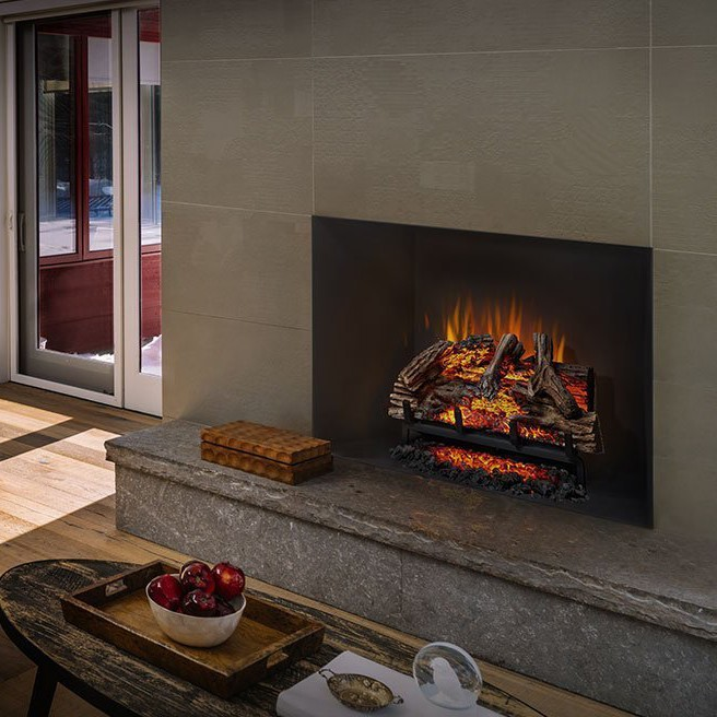 Napoleon Woodland Electric Fireplace Insert/Log Set