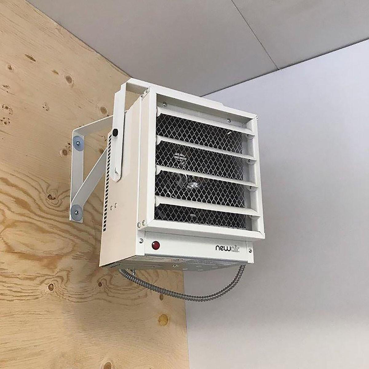 NewAir Hardwired Electric Garage Heater Model: G73